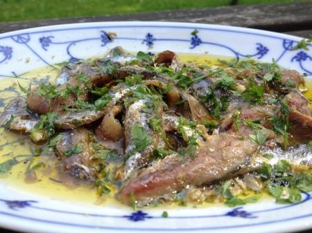 acciughe salate marinate