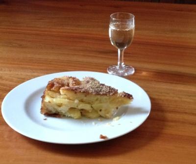 Torta glassata mele e cannella